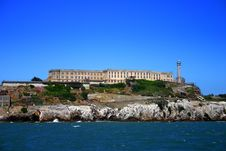 Alcatraz Island, San Francisco Royalty Free Stock Photos