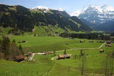 Free Swiss Scene Royalty Free Stock Photos - 1619208
