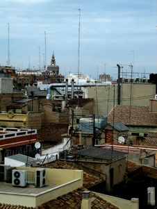 Free A Lot Of Rooftops In Spain. Royalty Free Stock Photography - 1619517