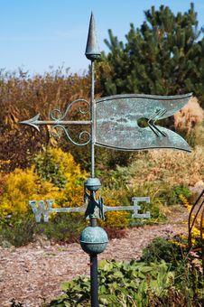 Garden Weather Vane Stock Photography