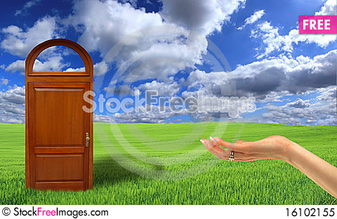 Free Doors To The New World Royalty Free Stock Photo - 16102155