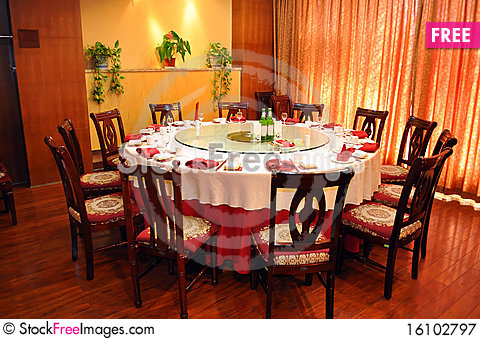 Free Dining Table Royalty Free Stock Photography - 16102797