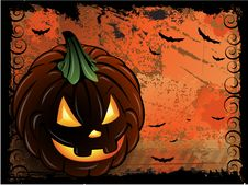 Free Halloween Pumpkin Background Royalty Free Stock Photo - 16100225