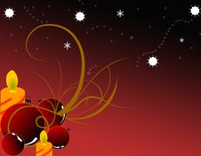 Free Christmas Background Royalty Free Stock Photography - 16100297