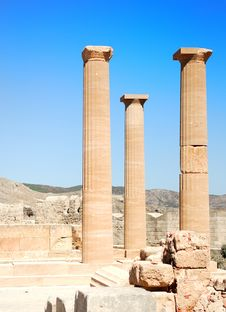 Free Ancient Columns Stock Photos - 16100853