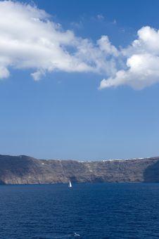 Free Gorgeous View Of Romantic Santorini Stock Photos - 16101523