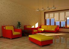 Free Interior Of Room Stock Photo - 16101720