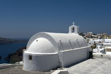 Free Church Bells On Santorini Island Royalty Free Stock Photo - 16101815
