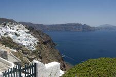 Free Santorini S Coast. Greece. Royalty Free Stock Photography - 16101847