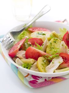 Free Salad Royalty Free Stock Photography - 16101967