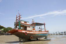 Free Fishing Boat Stock Image - 16102101