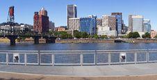 Free Portland Skyline. Royalty Free Stock Photo - 16102185