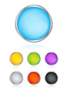 Free Glossy Buttons Stock Photos - 16102343