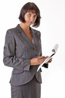 Free Beautiful Business Woman Stock Image - 16102641