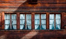 Free Row Of Four Small Windows Royalty Free Stock Image - 16102726