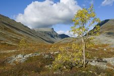 September Day In The Mountains Stock Photography