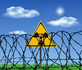 Free Radiating Danger Royalty Free Stock Photography - 16114497