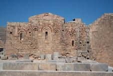 Free Byzantine Church - Acropolis Royalty Free Stock Images - 16113789