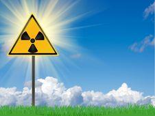 Free Radiating Danger Royalty Free Stock Photography - 16114457