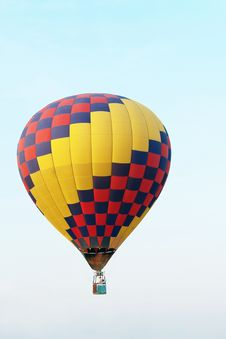 Free Colorful Balloon In Blue Sky 4 Stock Photos - 16114473
