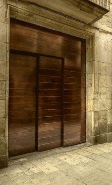 Free Front Door Stock Image - 16115141