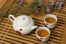 Free Teapot And Teacup Royalty Free Stock Photo - 16115405