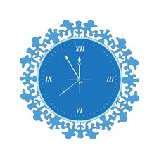Free Clock Blue Stock Photography - 16115732