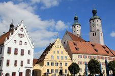 Wemding - Bavaria Royalty Free Stock Photo