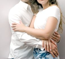 Young Love Couple Stock Images
