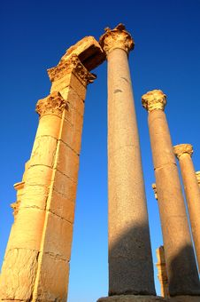 Free Site Of Palmyra Syria Stock Image - 16116781