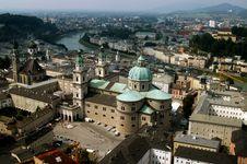 Landascape Of Salzburg Royalty Free Stock Photography