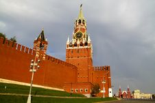 Free Kremlin On The Red Square Stock Photo - 16117150
