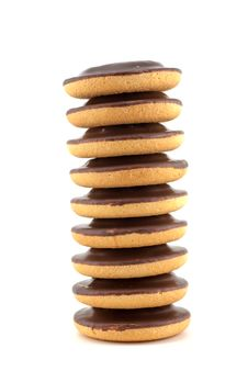 Free Chocolate Chip Cookies Stack Royalty Free Stock Images - 16117229