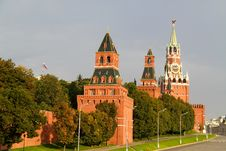 Kremlin On The Red Square Stock Image