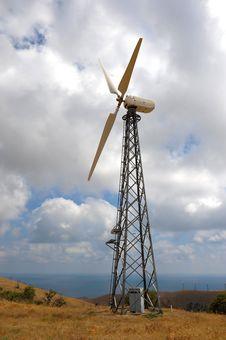 Free Wind Turbines Farm Stock Image - 16117741