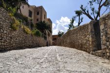 Free Calle Santa María - Ibiza Old Town Royalty Free Stock Photo - 16118465