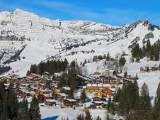 Winter In The Alps Royalty Free Stock Images