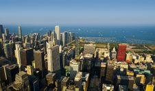 Free Chicago Skyline Royalty Free Stock Photos - 16119078