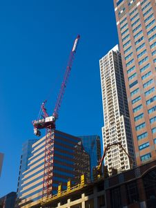 Free Building A Skyscraper Royalty Free Stock Image - 16119236