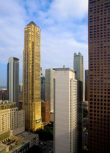 Free Chicago Skyscrapers Royalty Free Stock Photos - 16119518