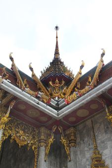 Free Thailand Temple In Bangkok On White Stock Image - 16119691