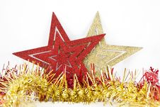 Free Christmas Stars Stock Photography - 16119742