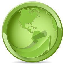 Free Green Globe Royalty Free Stock Images - 16119769