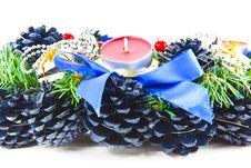 Free Christmas Wreath Stock Photos - 16119793