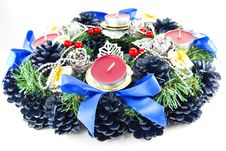 Free Christmas Wreath Stock Photography - 16119822