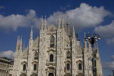 Free Milan S Dome Royalty Free Stock Photos - 16119918