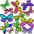 Free Butterflies Royalty Free Stock Image - 16126046