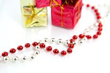 Free Christmas Gifts Decoration Stock Photography - 16120012