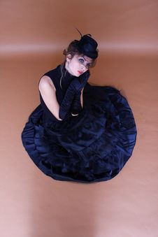 Free Portrait Of Gothic Lady Royalty Free Stock Images - 16120049