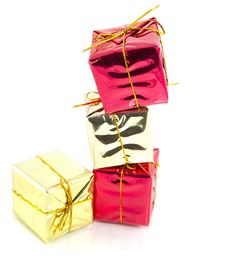 Free Christmas Gifts Royalty Free Stock Photography - 16120077